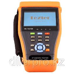 Tezter TIP-4.3 (ver.2) многофункциональный тестер для аналоговых и сетевых систем видеонаблюдения