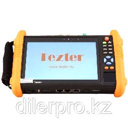 Tezter TIP-HOL-MT-7 многофункциональный тестер для аналоговых и сетевых систем видеонаблюдения