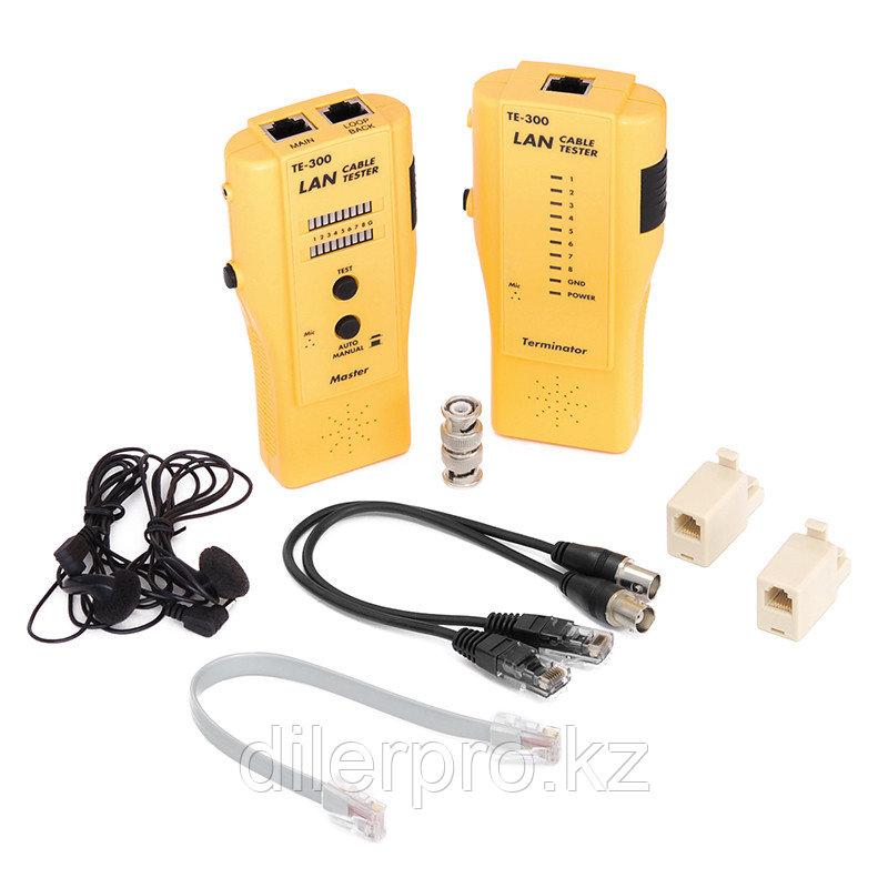 Тестер NMC-TE300 для кабеля UTP/STP с переговорным устройством