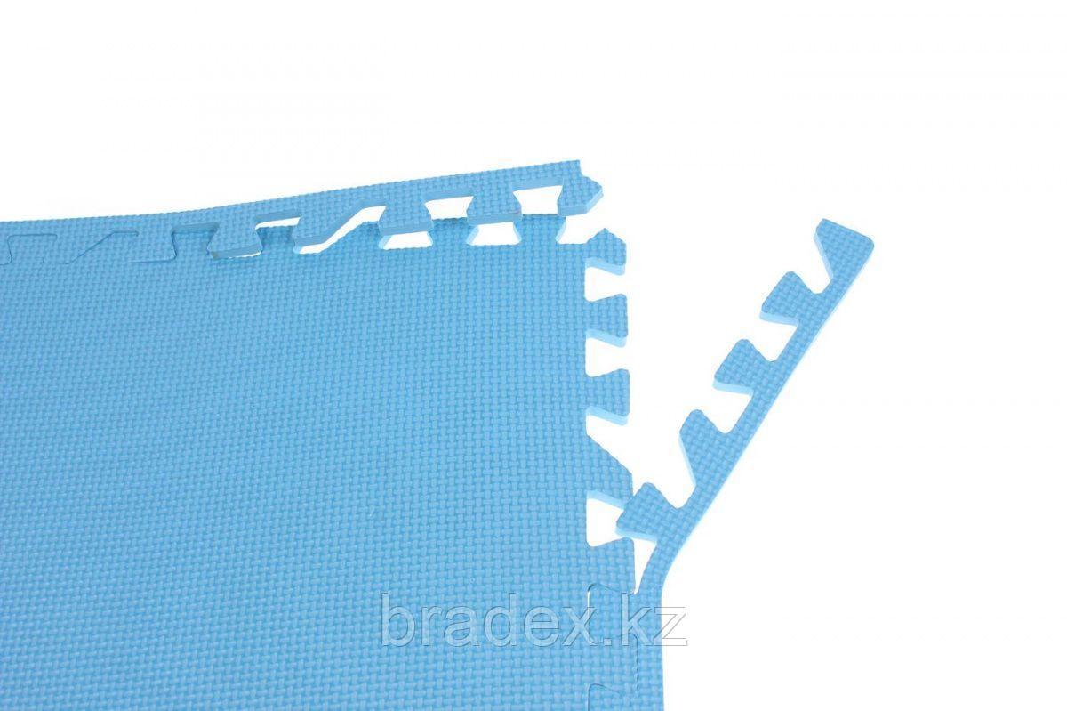 Коврик для фитнеса секционный 62х62х0,8 см - фото 7