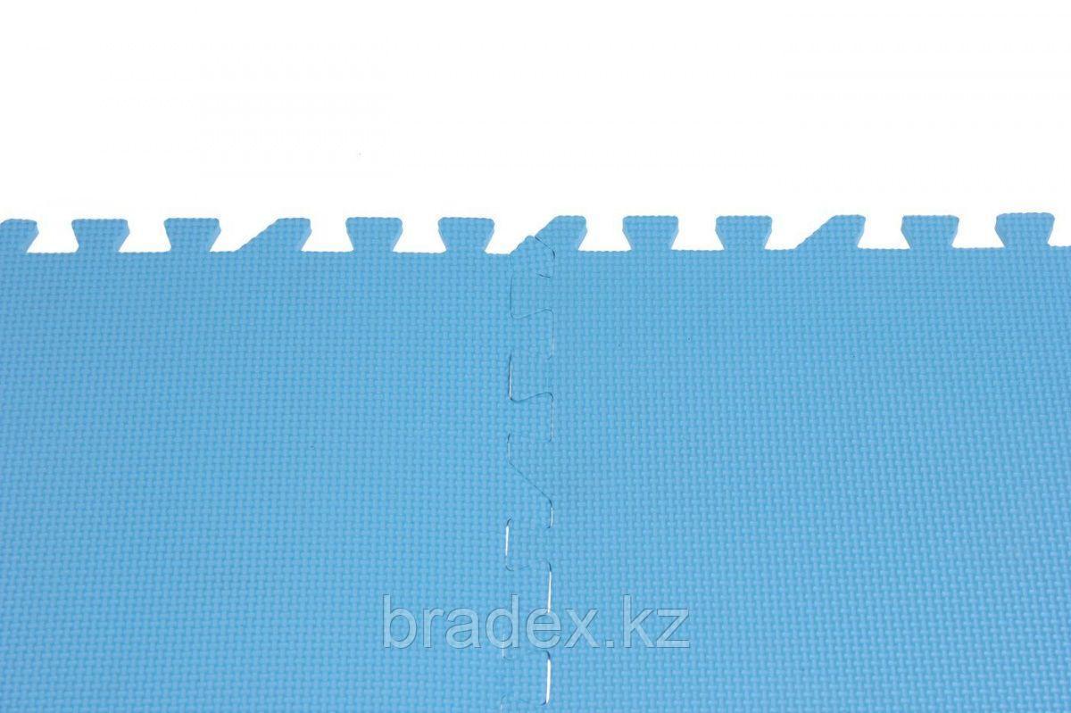 Коврик для фитнеса секционный 62х62х0,8 см - фото 5