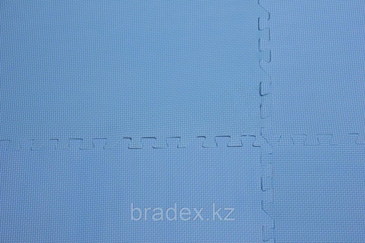 Коврик для фитнеса секционный 62х62х0,8 см - фото 8
