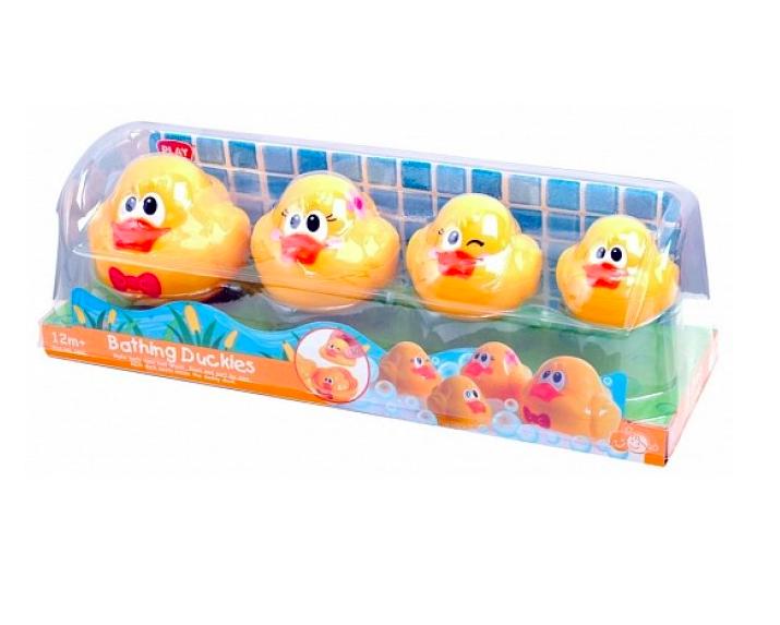 Игровой набор детский для игр в ванной - Утята, Playgo, Play 2430. - фото 1