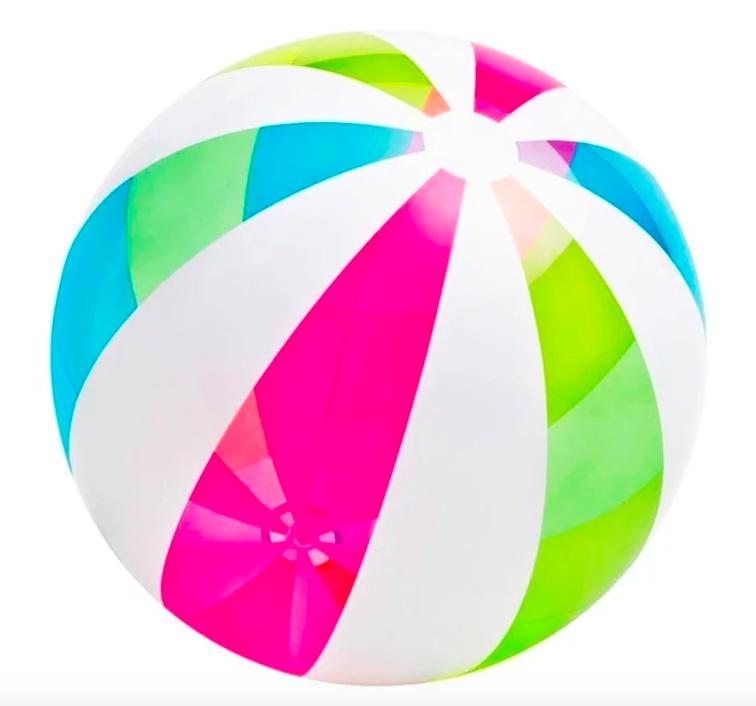 Надувной мяч Giant Beach Ball 107см Intex 59066 - фото 1