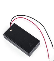BOX Bat Holder 2*AA (ЗАКР.) flip контейнер для батареек