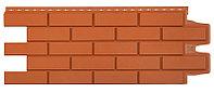 Панель фасадная GL полипропиленовая. Клинкерный кирпич (стандарт) терракотовый