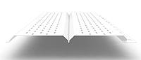 Софит L брус 240 мм RAL 9003 металлический (перфорированный), фото 1