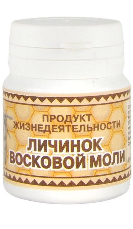 Продукт жизнедеятельности личинок восковой моли, 60 таблеток по 250мг