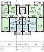 1 ком в ЖК «The House».. 39.66 м²