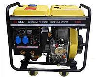 """55014 - """"P.I.T."""" Дизельный генератор 5.0 kW + САГ 190A"""