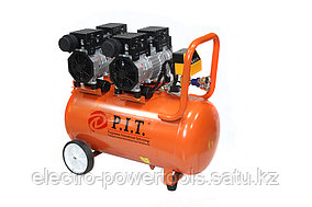 """56528 - PRO - """"P.I.T."""" Компрессор 2-x моторный 65 L  3,6 kW       с автоматом"""