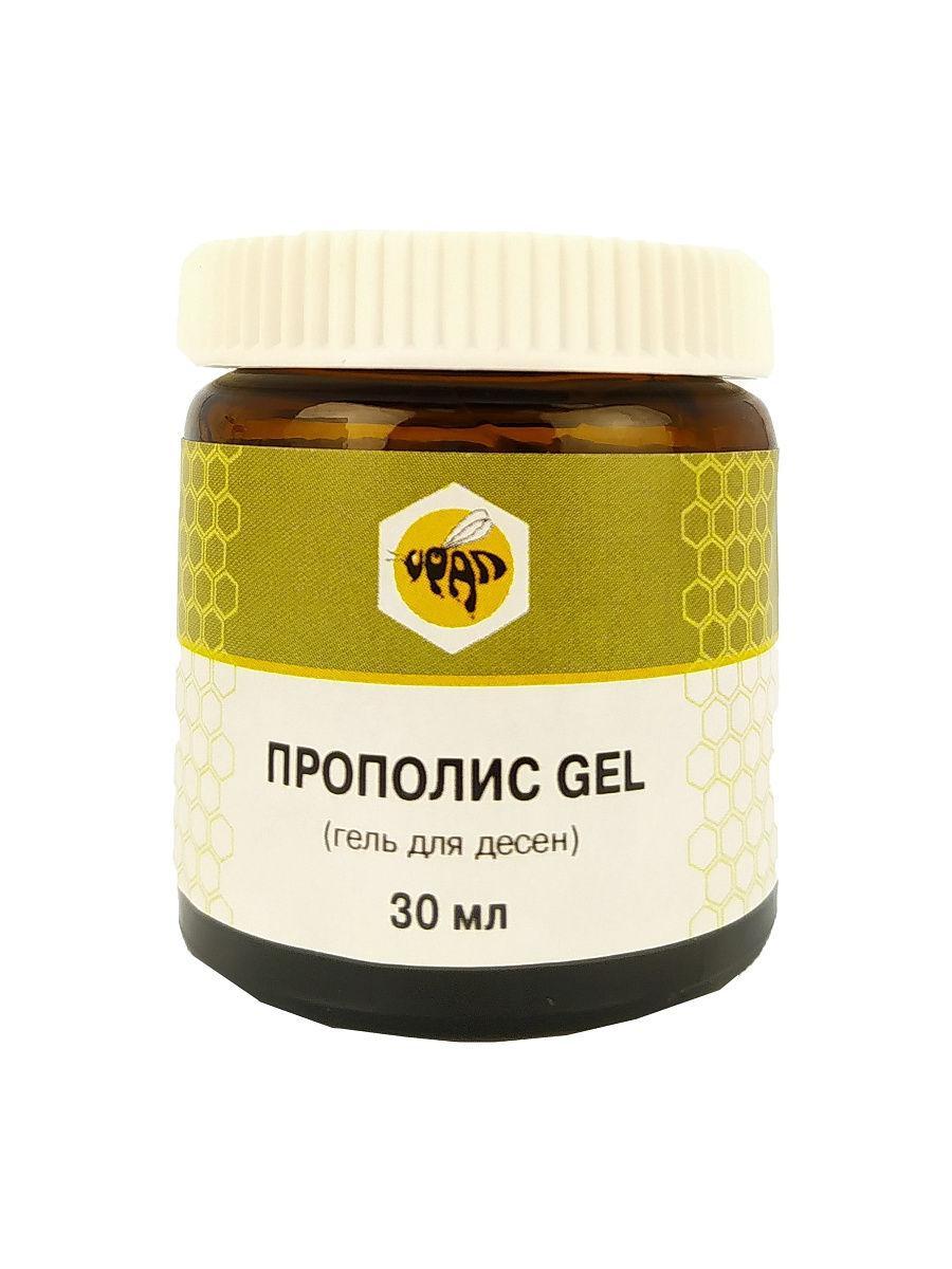 Прополис Gel, противоспалительный гель для десен, 30 мл