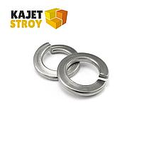 Шайба пружинная (гровер) DIN 127, нержавеющая сталь А4, М10