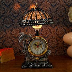 Часы-светильники
