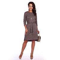 Платье женское «Жанетта», цвет бежевый, размер 50
