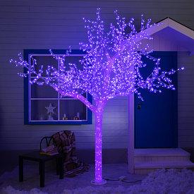 Светодиодные деревья и кусты