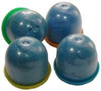 Бахилы в капсулах 28 мм обычные синие ( 1 пара в одной капсуле)