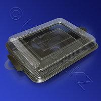 Россия Контейнер для суши большого сета PS/PVC 40,5х27,7х7,2см с крышкой 100 шт/кор
