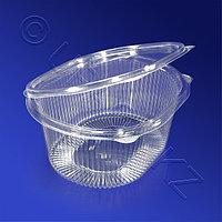 Kazakhstan Контейнер пластиковый 1000мл PS прозрачный 17,5х14,9х7,9см 210 шт/кор ИПР-1000 А