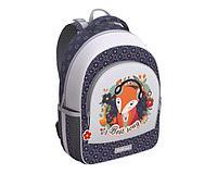 Рюкзак ученический ErgoLine 15L Music Fox