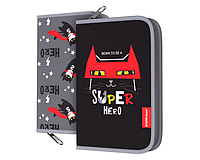 Пенал-книжка с наполнением 135x205x30 мм Super Hero