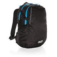 Средний походный рюкзак Explorer, 26 л (без ПВХ), черный; синий, Длина 33 см., ширина 16 см., высота 46 см.,