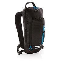 Маленький походный рюкзак Explorer, 7 л (без ПВХ), черный; синий, Длина 18 см., ширина 6 см., высота 40 см.,