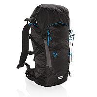 Большой походный рюкзак Explorer, 40 л (без ПВХ), черный; синий, Длина 27 см., ширина 17 см., высота 65 см.,
