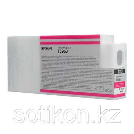 Картридж Epson C13T596300 SP 7900 / 9900 пурпурный, фото 2