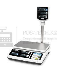 Электроно-цифровые весы торговые CAS PR 30 POLE