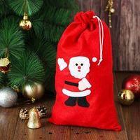 Карнавальный мешок 'Привет от Деда Мороза'