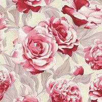 Обои флизелиновые IDECO 103-01-7-VXB Amore, 'Розы красные', 1,06х10 м