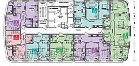 1 комнатная квартира в ЖК Олимпийский 46.71 м²