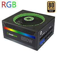 Gamemax RGB-850 (14СМ) 80PGold, Полностью модульный, фото 1