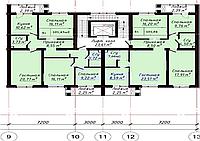 4 ком в ЖК «The House». 101.43 м², фото 1