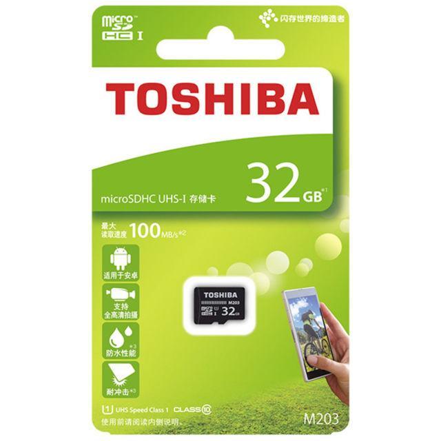 Карта памяти micro SD TOSHIBA 32gb @10