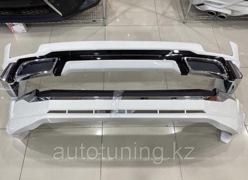 Аэродинамический обвес STYLE дизайн 2020 на Land Cruiser Prado 2018+