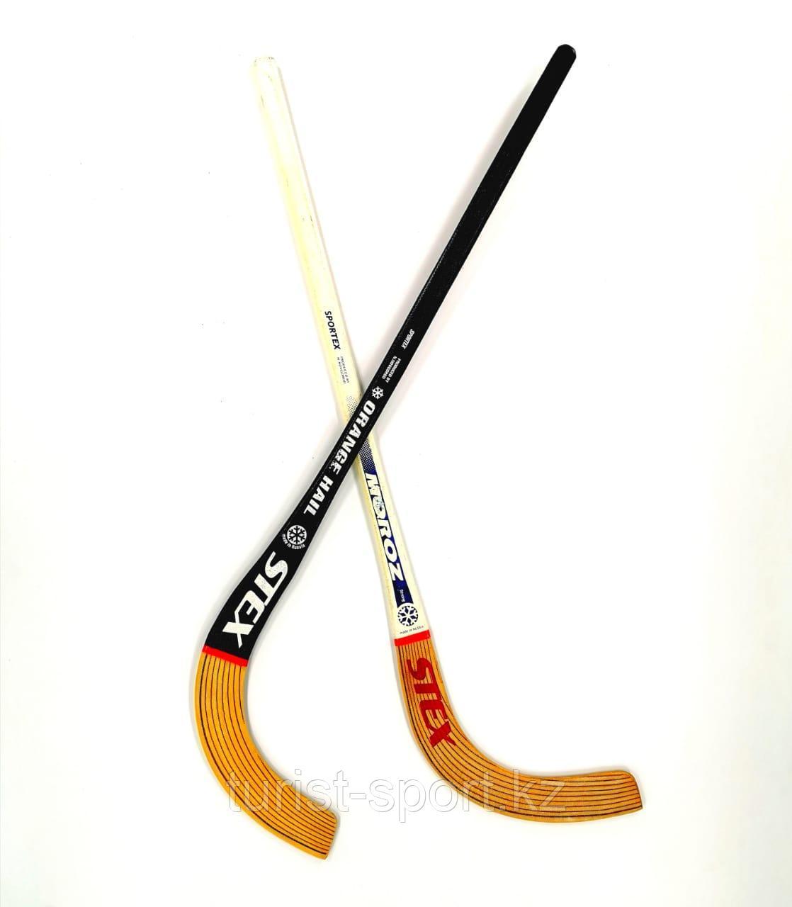 "Клюшка для хоккея STEX ""Orange-HAIL"" с мячем"