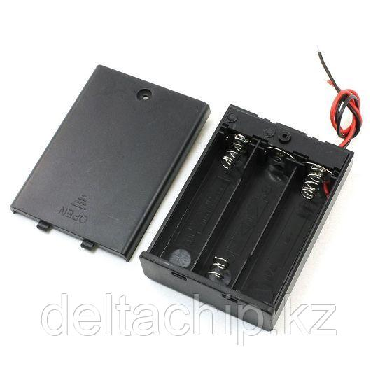 BOX Bat Holder 3*AA (ЗАКР.) flip контейнер для батареек