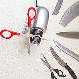 Электрическая универсальная ножеточка «Острые грани» для ножей, ножниц, отвёрток., фото 2