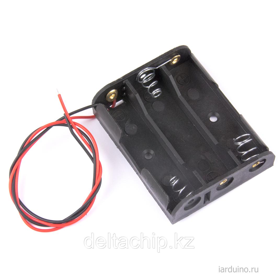 BOX Bat Holder 3*AA (ОТКР.) flip контейнер для батареек