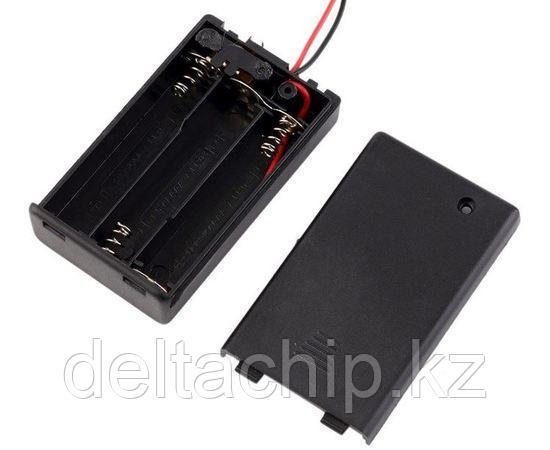 BOX Bat Holder 3*AAA (ЗАКР.) flip контейнер для батареек
