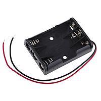 BOX Bat Holder 3*AAA (откр.) flip контейнер для батареек