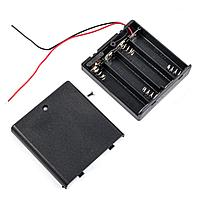 BOX Bat Holder 4*AA (ЗАКР.) flip контейнер для батареек