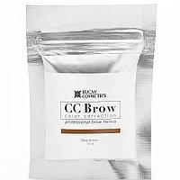 Хна для бровей CC Brow серо-коричневый 10 г в саше №59177/00672