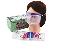 Маска для лица защитная многоразовая MZ-26 пластик. (12 шт.) №11325(2)