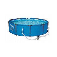 Каркасный бассейн Bestway 56984, Steel pro Max, размер 305х100 см, фото 1