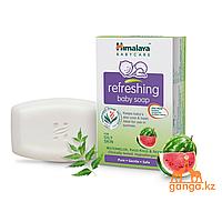 Детское освежающее мыло Арбуз, Кус-Кус, Ним (Refreshing Soap HIMALAYA), 125гр