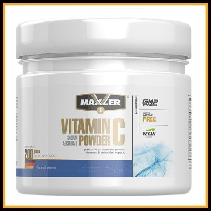 Maxler Sodium ascorbate Витамин С 1000мг (200гр)