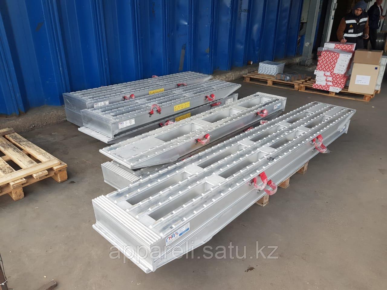 Алюминиевые сходни от производителя (трап, аппарель) от 16 до 22 тонн